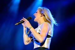 Ellie Goulding (englischer Sänger, Texter und Komponist, Multiinstrumentalist und Schauspielerin) lizenzfreie stockfotos