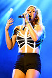 Ellie Goulding famous English singer performs at FIB Festival Stock Image
