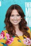 Ellie Kemper at the 2012 MTV Movie Awards Arrivals, Gibson Amphitheater, Universal City, CA 06-03-12 Stock Photos