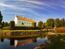 Ellinge castle Sweden. Image of Ellinge castle in Sweden. Medival manorhouse that now houses weddings and conferences Stock Images