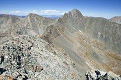 Ellingwoodpunt en Blanca Peak royalty-vrije stock foto's