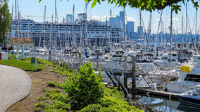 Elliot Bay Marina Royalty Free Stock Photography