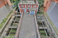Elliot Pumping Station & Filters at hong kong Royalty Free Stock Photo