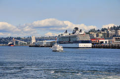 Elliott Bay, Seattle, Washington Royalty Free Stock Photography