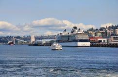 Elliott zatoka, Seattle, Waszyngton Fotografia Royalty Free