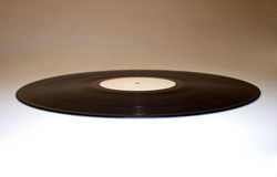 Ellipse 2 de vinyle Photographie stock libre de droits