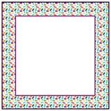 Ellipse frame Stock Photos