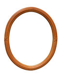 Ellipse Picture Frame Royalty Free Stock Image
