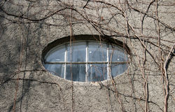 Ellipse window Stock Photo