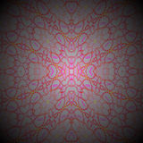 Ellipses pattern orange red pink violet gray centered and blurred Royalty Free Stock Photography