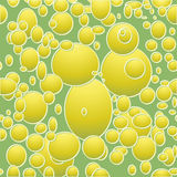 Ellipses pattern Stock Photography