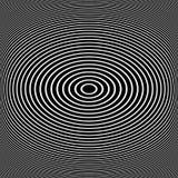 Ellipspatroon Ovale lijnentextuur Stock Illustratie