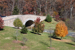 Elliptical-Arched Stone Bridge Monticello VA