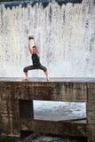Elliptical balowy szkolenie w naturze Zdjęcie Royalty Free