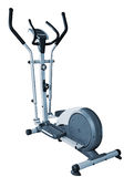 Elliptical blue trainer Stock Image