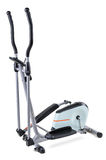 Elliptical cardio trainer. Gym equipment, elliptical cardio trainer, isolated on white background Stock Images