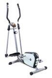 Elliptical cardio trainer. Gym equipment, elliptical cardio trainer, isolated on white background Royalty Free Stock Photography