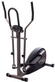 Elliptical cross trainer. An elliptical cross trainer isolated on white Stock Photography