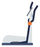 Elliptical cross trainer machine. Elliptical cross trainer machine vector flat design illustration isolated on white background vector illustration