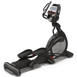 Elliptical gym machine over white 3D Illustration Stock Photography