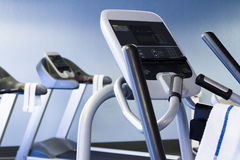 Elliptical machine Stock Photo