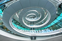 Elliptical staircase Royalty Free Stock Image