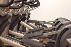 Elliptical trainer, Cross Trainer. Gym Equipment Stock Photo