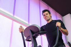 Elliptical Training Royalty Free Stock Photos