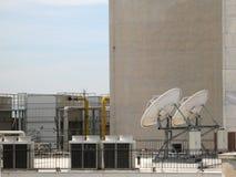 Elliptische Antennen lizenzfreies stockbild