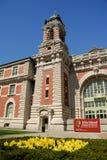 ellisömuseum New York Arkivbild