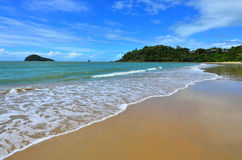 Ellis beach in Cairns Queensland Australia Royalty Free Stock Photo