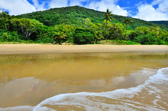 Ellis beach in Cairns Queensland Australia Royalty Free Stock Photography