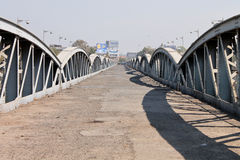 Ellis Bridge. Is a century old heritage bridge situated in Ahmedabad, Gujarat. It bridges the Western & Eastern parts of the city across the Sabarmati river Royalty Free Stock Photo