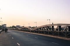 Ellis brige: Arvstruktur, Ahmedabad, Indien Arkivfoton