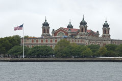 Ellis Island stock photography