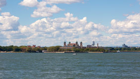 Ellis Island Foto de archivo