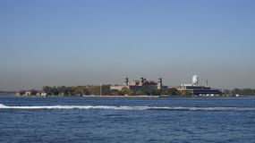 Ellis Island Photos libres de droits