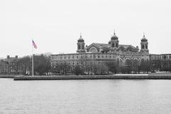 Ellis Island flag Stock Image