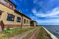 Ellis Island Immigrant Hospital imagens de stock royalty free