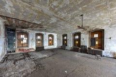 Ellis Island Immigrant Hospital fotografia de stock