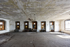 Ellis Island Immigrant Hospital imagem de stock royalty free