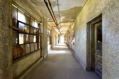 Ellis Island Immigrant Hospital imagem de stock