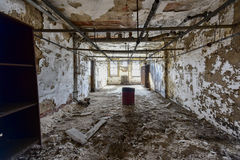 Ellis Island Immigrant Hospital fotos de stock royalty free