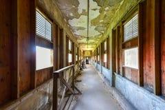 Ellis Island Immigrant Hospital foto de stock