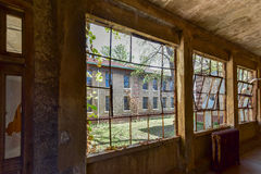 Ellis Island Immigrant Hospital imagens de stock