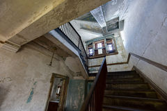 Ellis Island Immigrant Hospital. The abandoned Ellis Island Immigrant Hospital. It was the United States first public health hospital, opened in 1902 and stock images