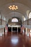 Ellis Island - intérieur photo libre de droits