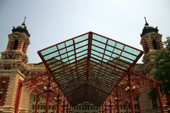 Ellis Island Main Building Stock Photos