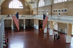 Ellis Island Main hall Stock Photography
