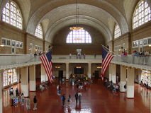 Ellis Island Main hall Royalty Free Stock Photo